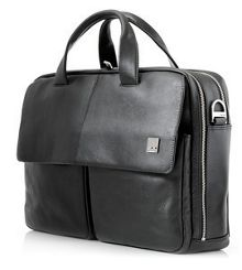 Warwick mens brown briefcase