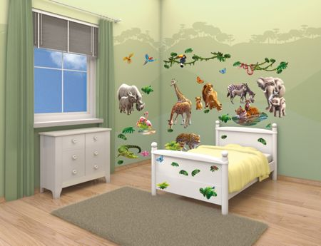 Walltastic Jungle Adventure Room Décor Kits