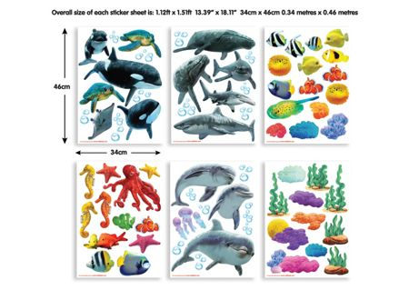 Walltastic Sea Adventure Room Décor Kits