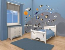 Walltastic Space Adventure Room Décor Kits