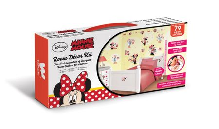 Walltastic Disney Minnie Mouse Room Décor Kits