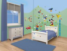 Walltastic Disney Mickey Mouse Room Décor Kits