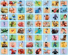 Walltastic Disney 64 Piece Collage - Blue