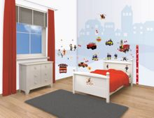 Walltastic Fireman Sam Room Decor Kit