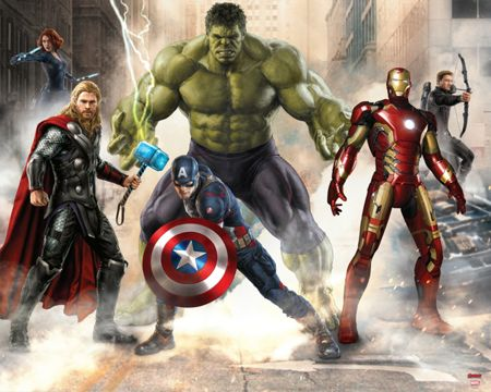 Walltastic Avengers Age of Ultron Wallpaer Mural
