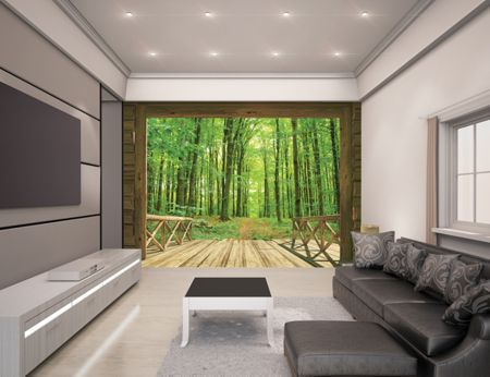 Walltastic Woodland Forest Wallpaper Mural