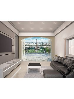 Eiffel Tower in Paris Wallpaper Mural