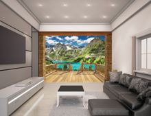 Walltastic Alpine Mountain Wallpaper Mural