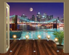 Walltastic Brooklyn Bridge NYC Wallpaper Mural