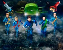 Walltastic Thunderbirds Are Go Wallpaper Mural