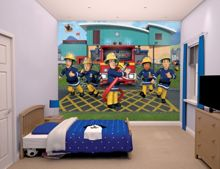 Walltastic Fireman Sam Wallpaper Mural