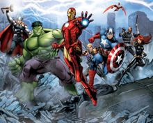 Walltastic Avengers Assemble Wallpaper Mural