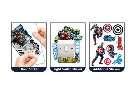 Walltastic Marvel Captain America Sticker
