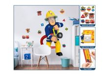 Walltastic Fireman Sam Sticker