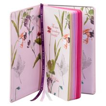 Ted Baker Peony brogue notebook a5