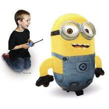 Inflatable radio control dave minion