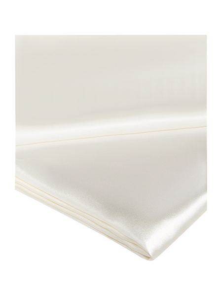 Gingerlily Ivory silk double flat sheet