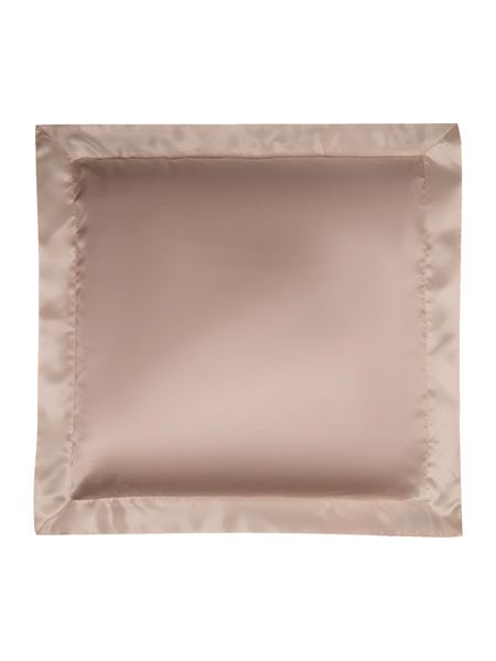 Gingerlily Nude silk square pillowcase