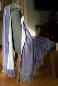 Gingerlily Bamboo throw 130x180cm mauve
