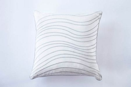 Gingerlily Slk chain dot cushion 30x30