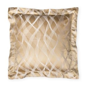 Gingerlily Rubans silk cotton pillowcase square