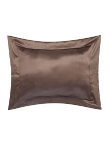 Gingerlily Cocoa silk boudoir pillowcase