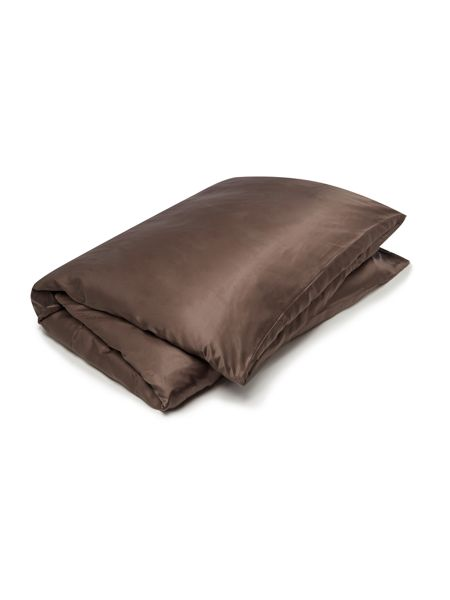 Gingerlily Cocoa silk duvet cover