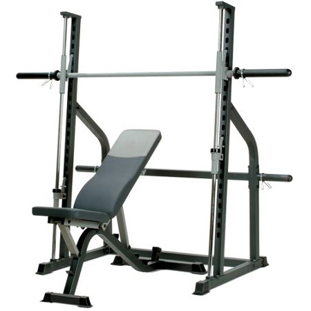 Marcy Sm600 smith machine & weight bench