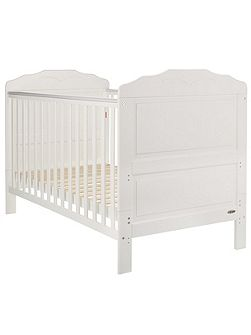 Beverley cot bed - white