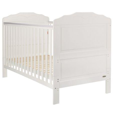 OBABY Beverley cot bed - white