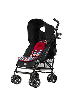 OBABY Atlas lite stroller - red