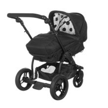 Zezu Multi Pramette - Black Dotty