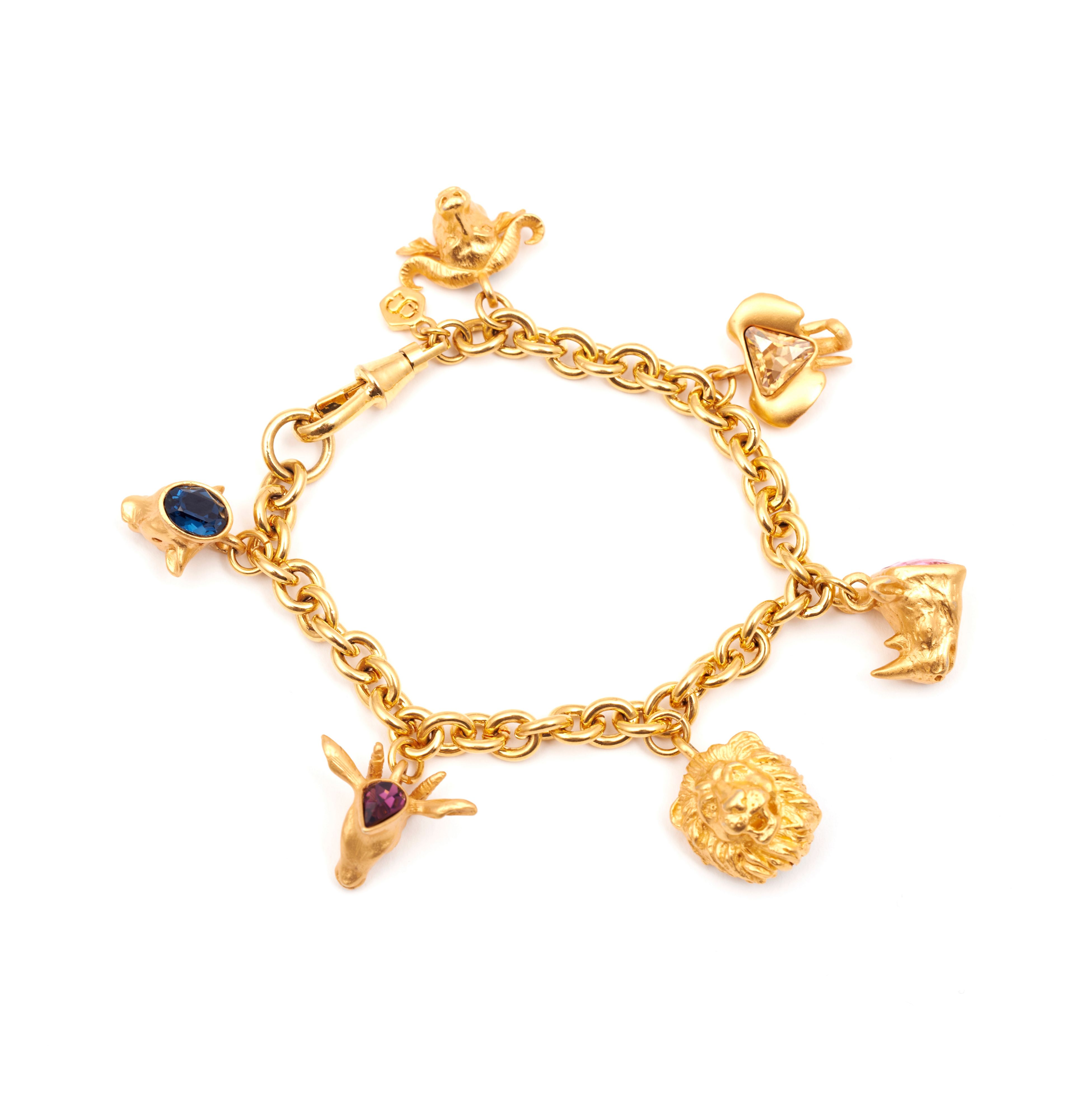 Mini Animal Charm Braclet