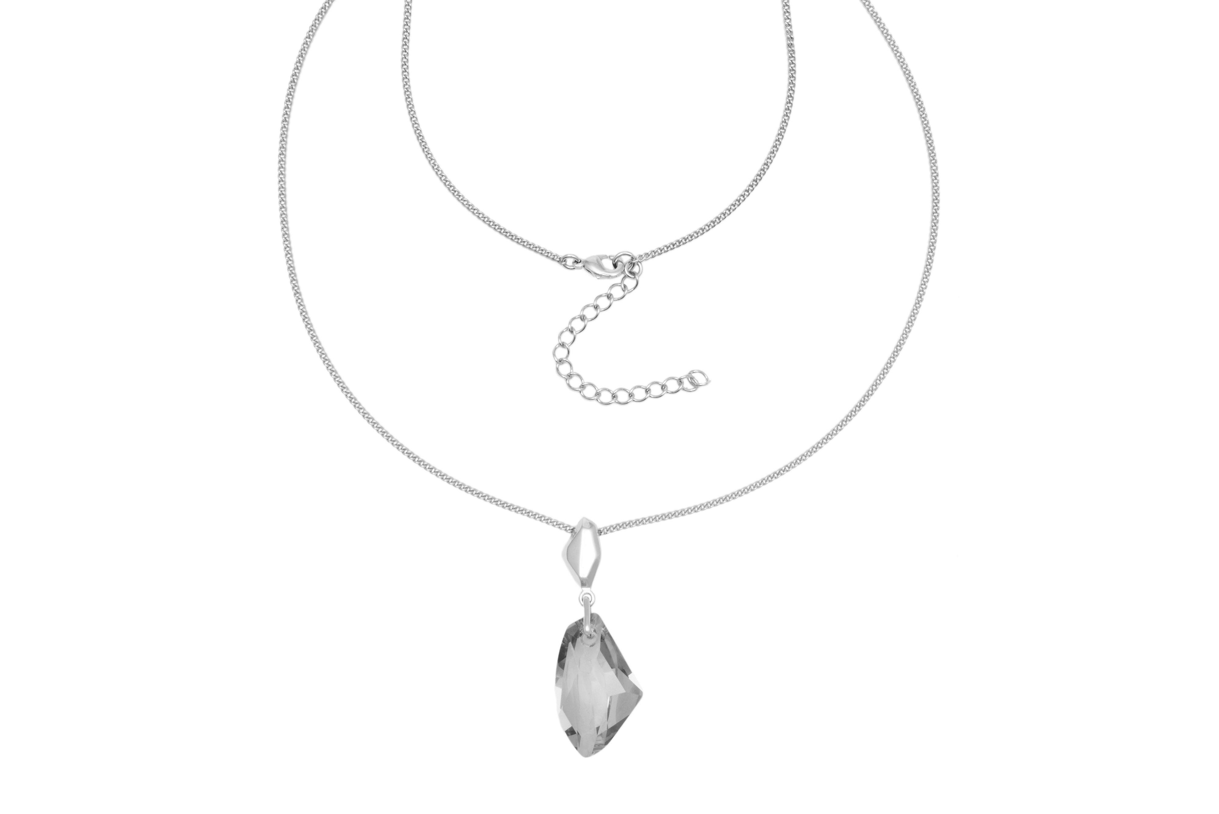 18ct White Gold Plated Pendant