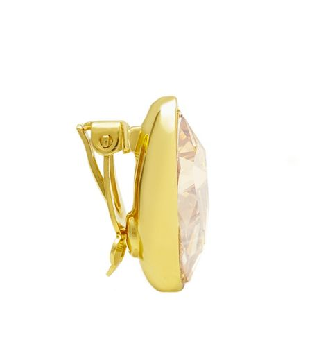 Aurora 18ct Gold Plated Clip on Earrings