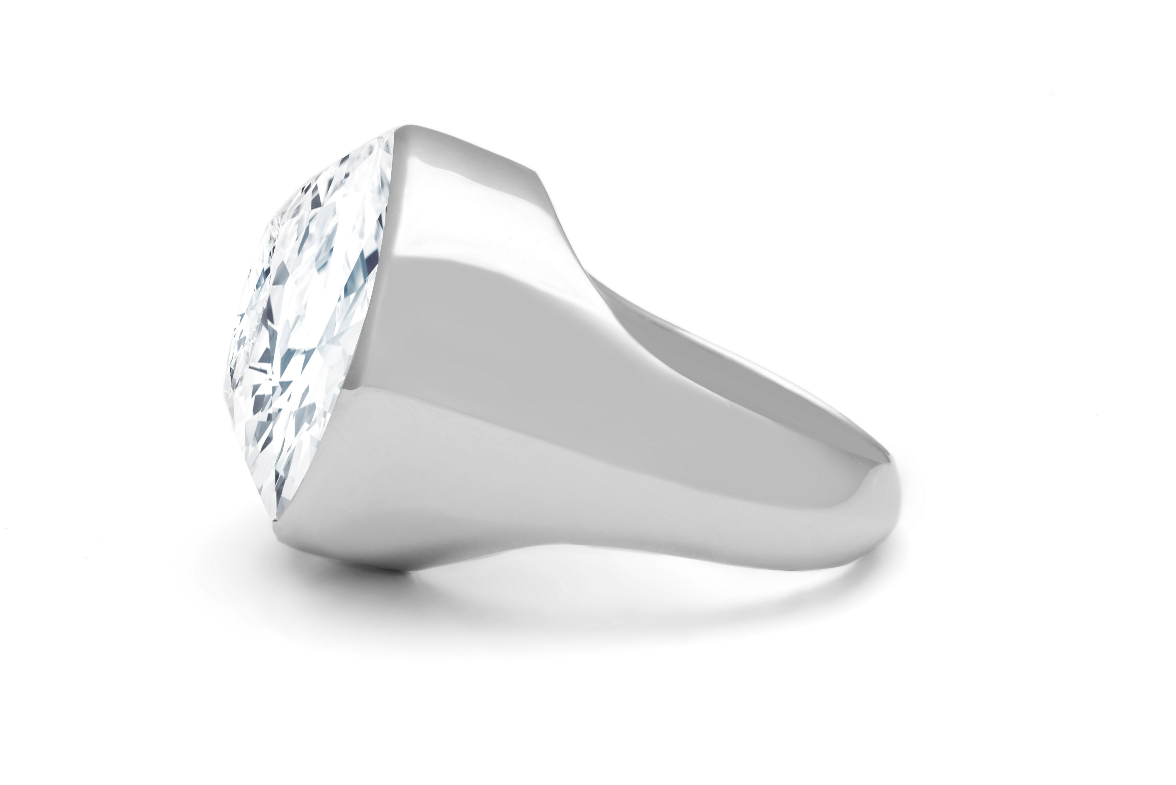 Swarovski 18ct White Gold Cocktail Ring