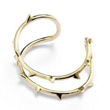 Libertine Yellow gold thorn bangle