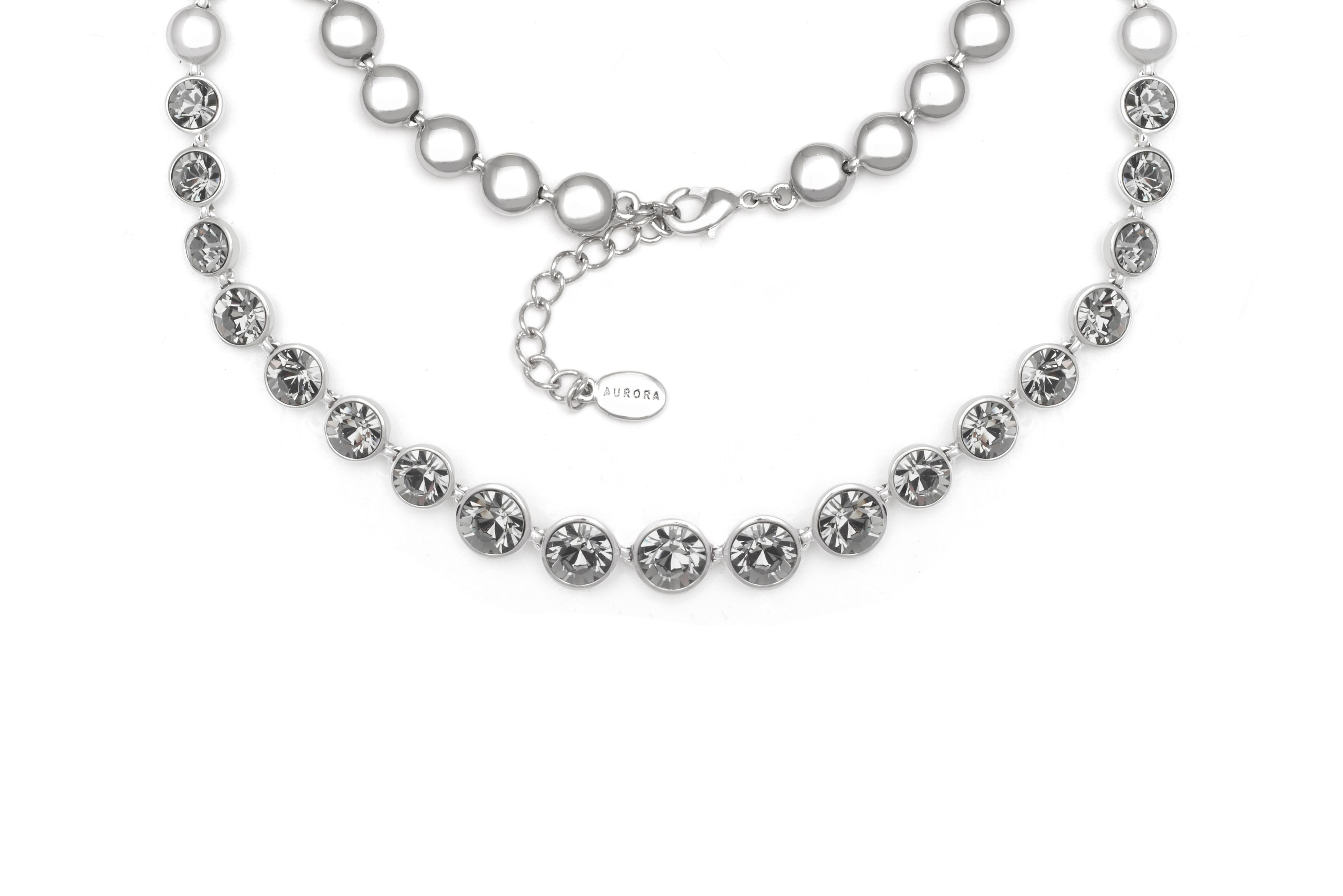 18ct White Gold Plated Necklace