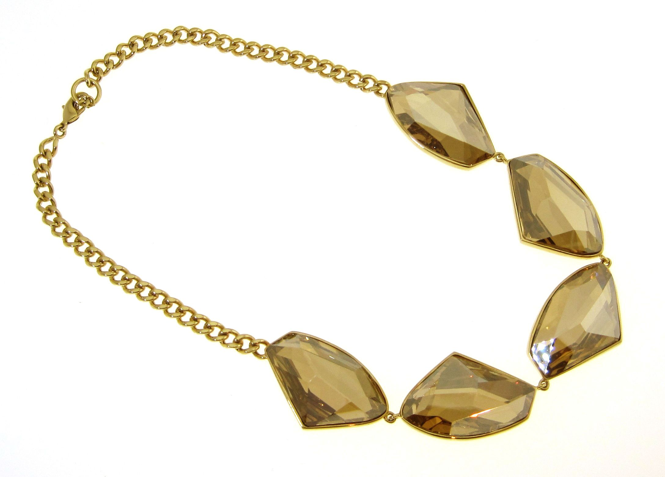 Swarovski 18Ct Gold Plated Necklace