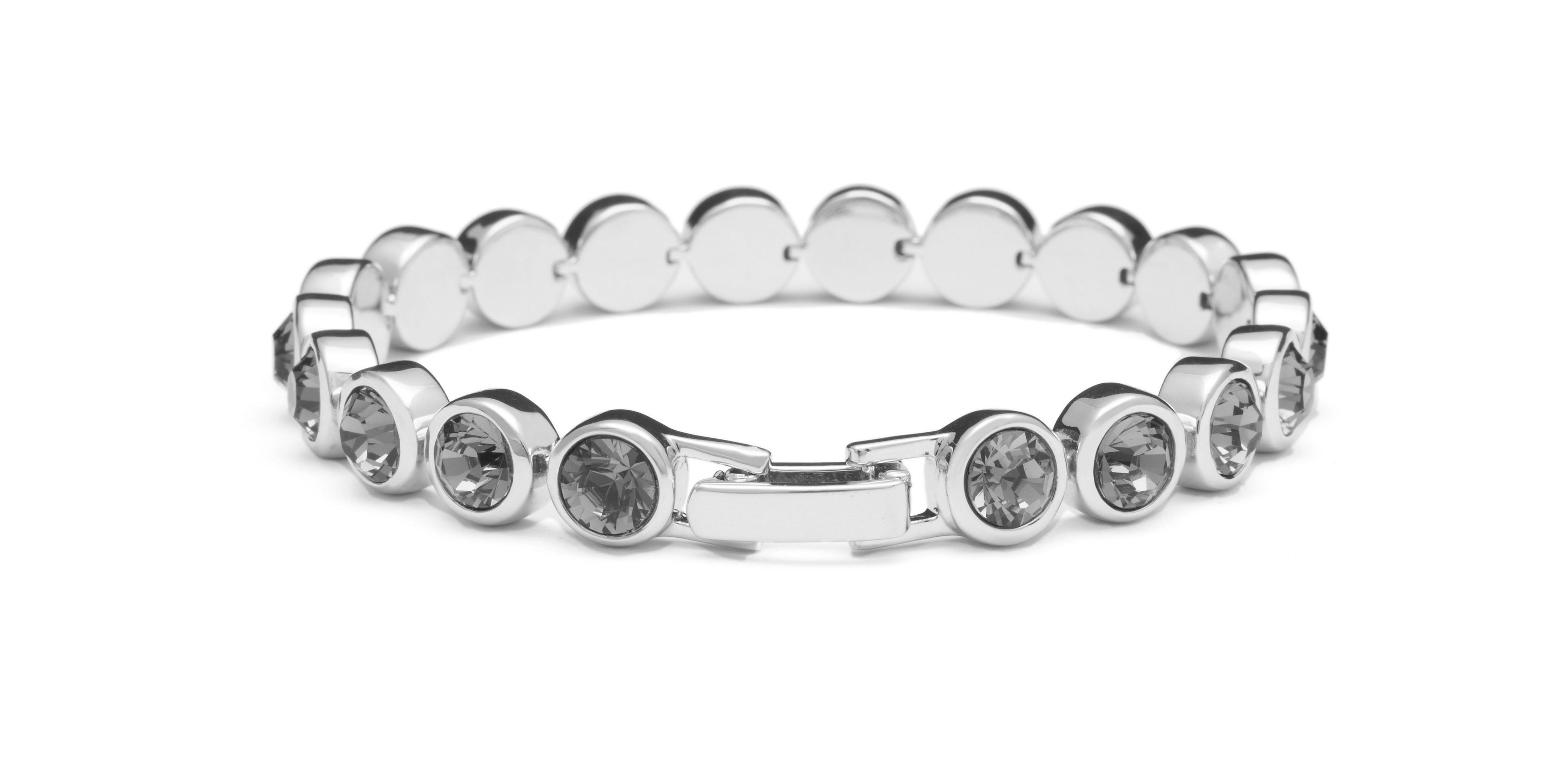 Swarovski 18ct White Gold Tennis Bracelet