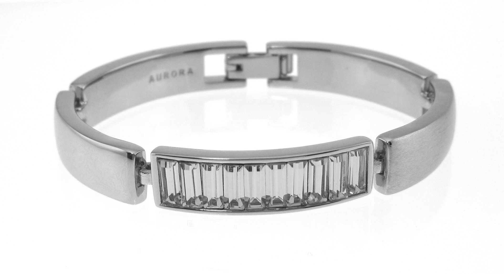 Swarovski 18ct White Gold Adjustable Bracelet