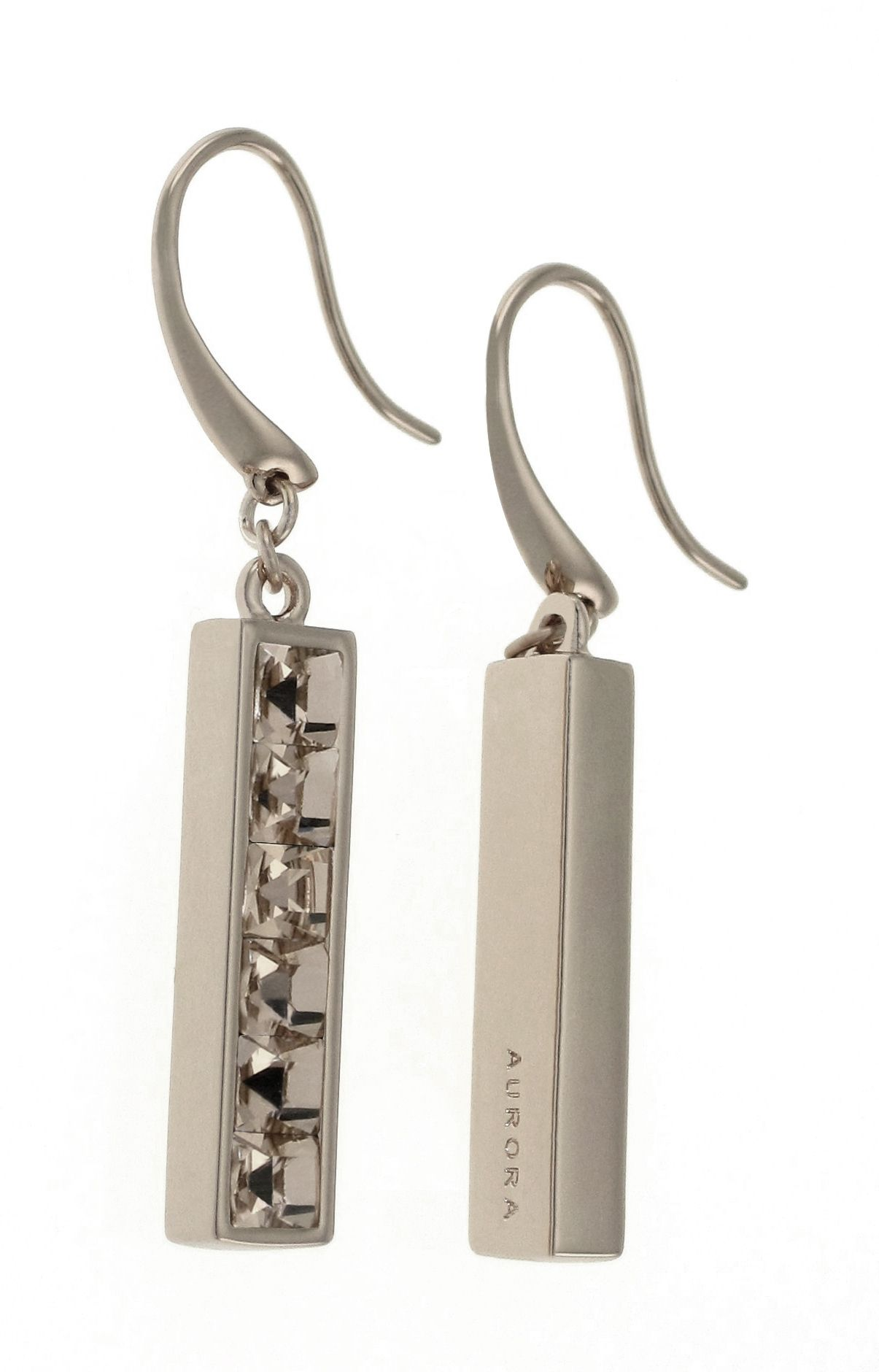 Swarovski 18ct White Gold Earrings