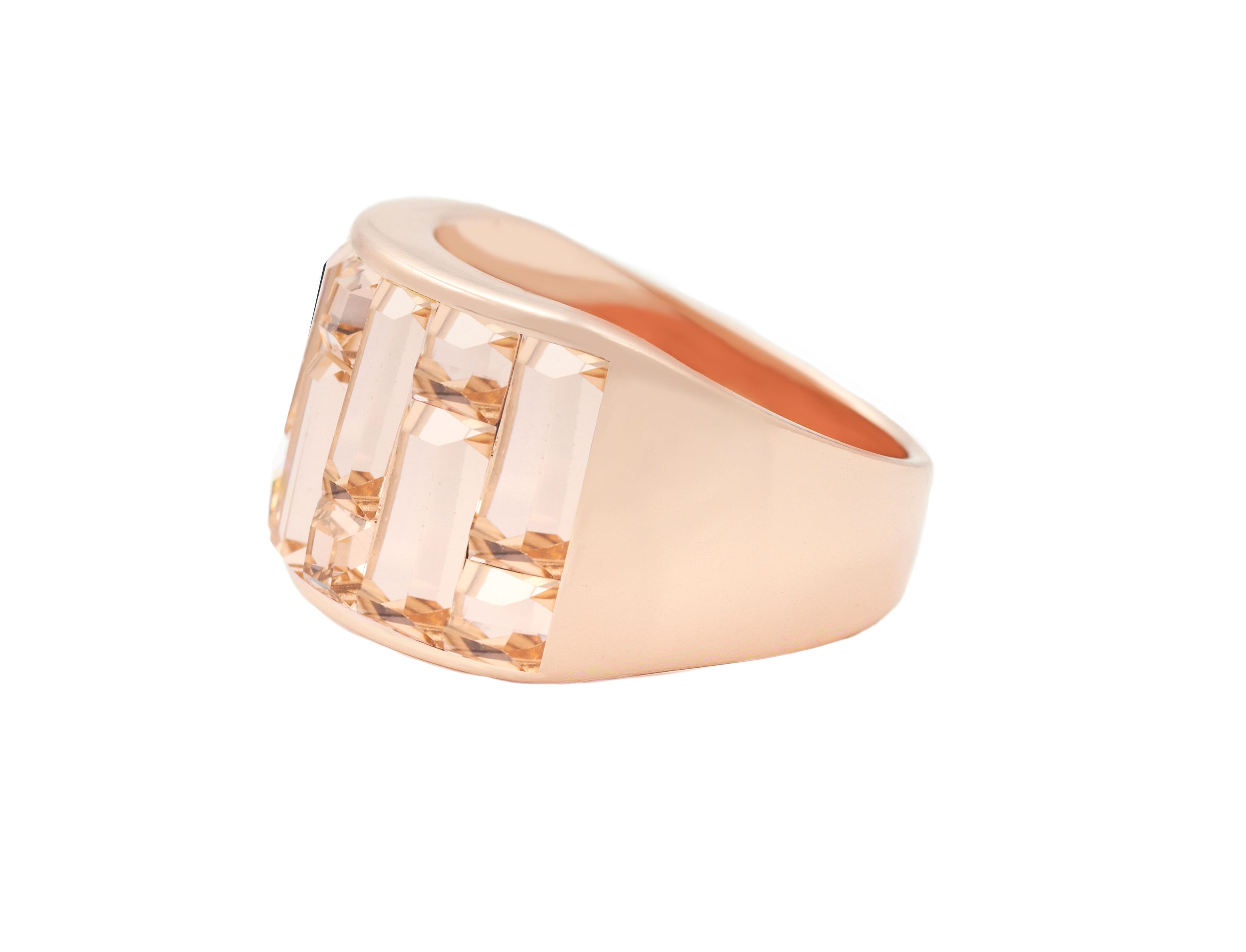 Swarovski 18ct Rose Gold Ring