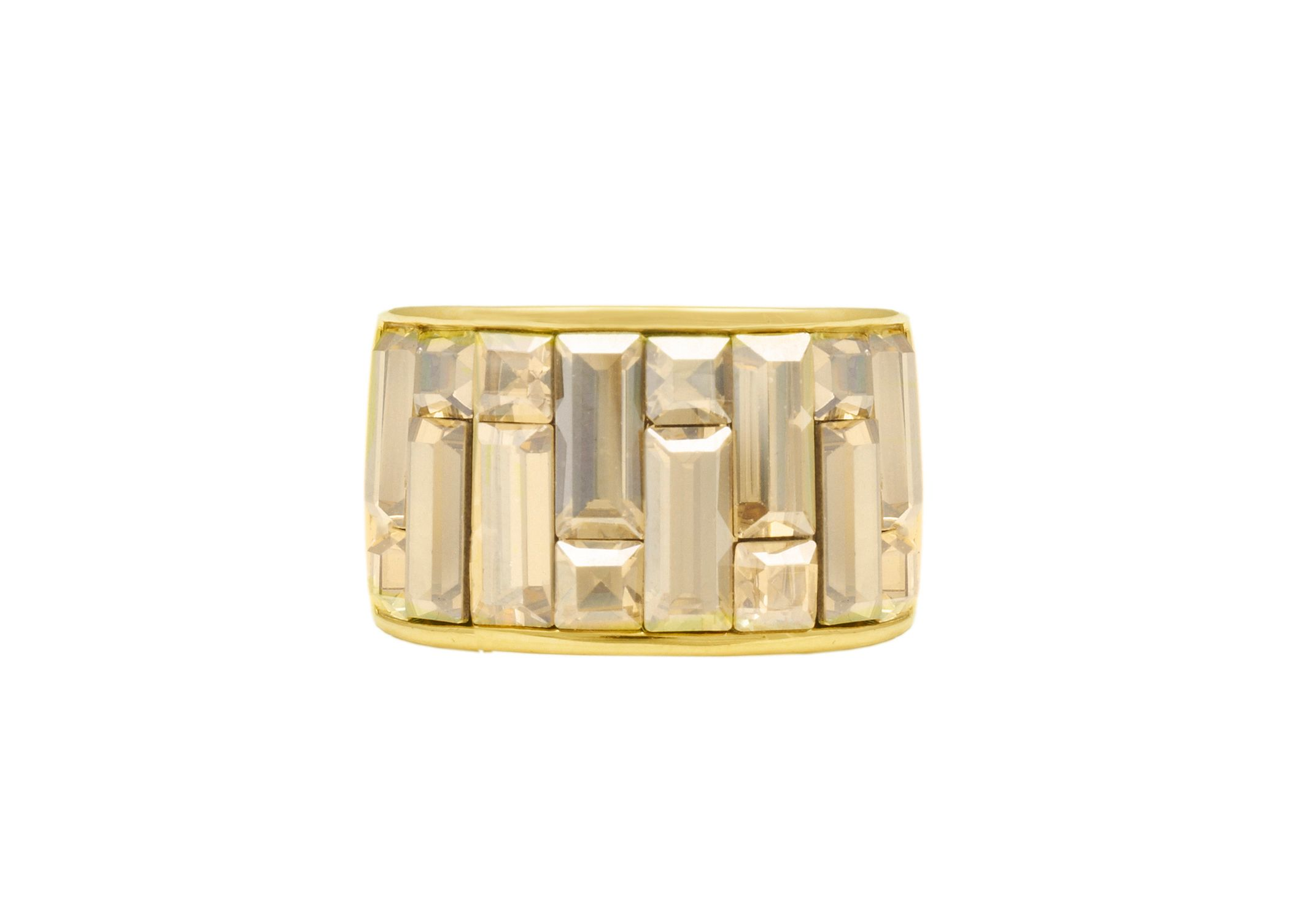 Swarovski 18ct Yellow Gold Ring