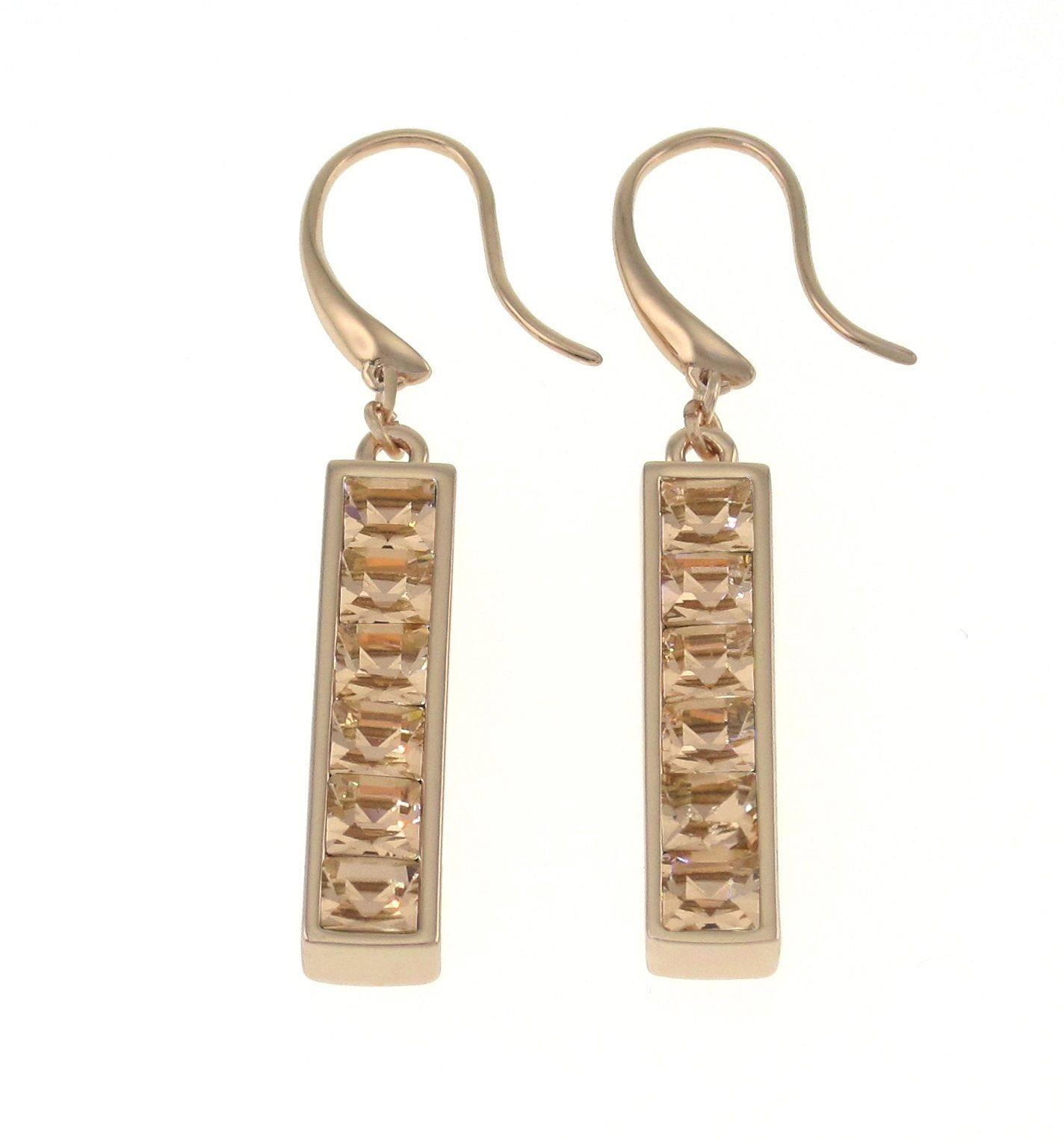 Swarovski 18ct Yellow Gold Earring