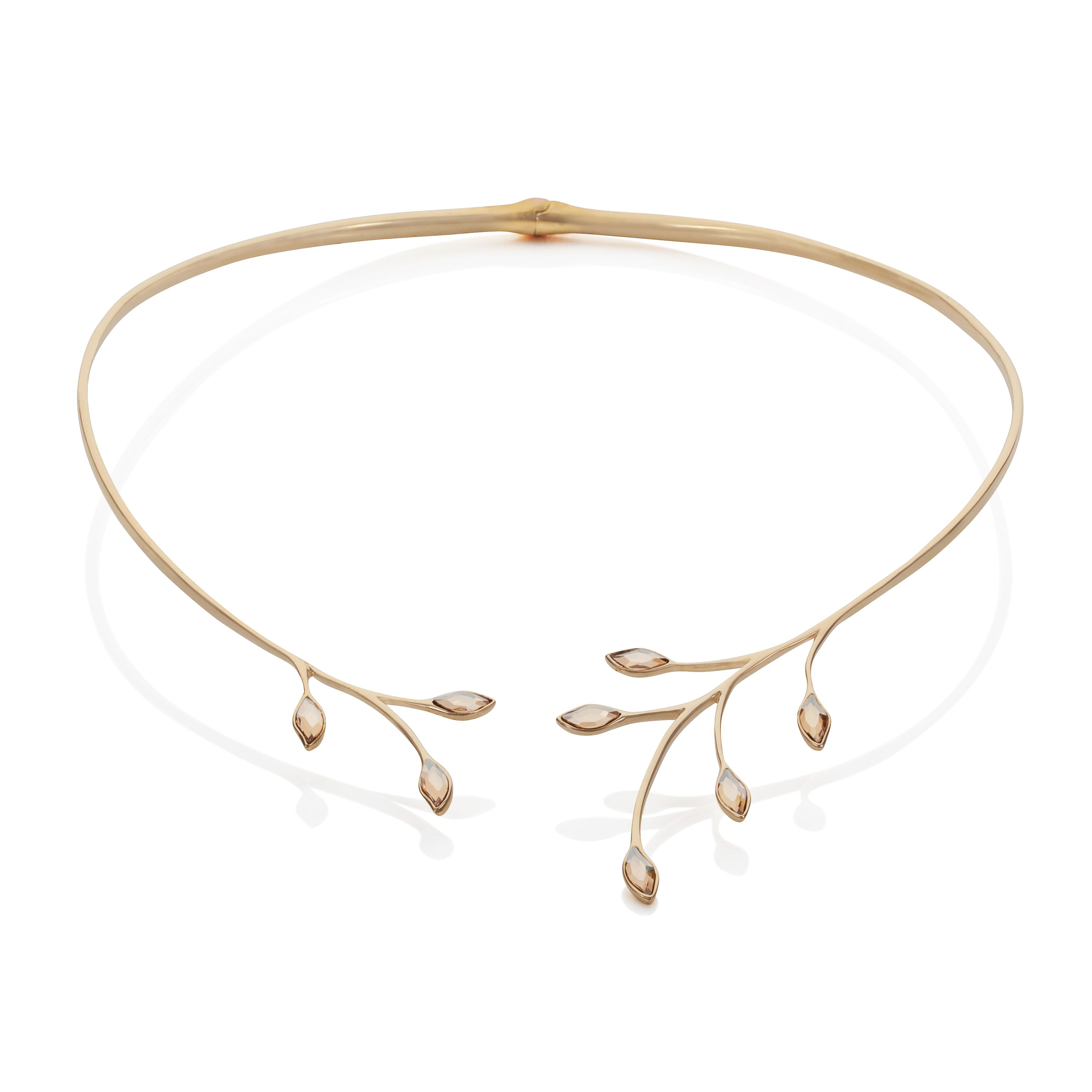 18Ct Yellow Gold Collar Necklace