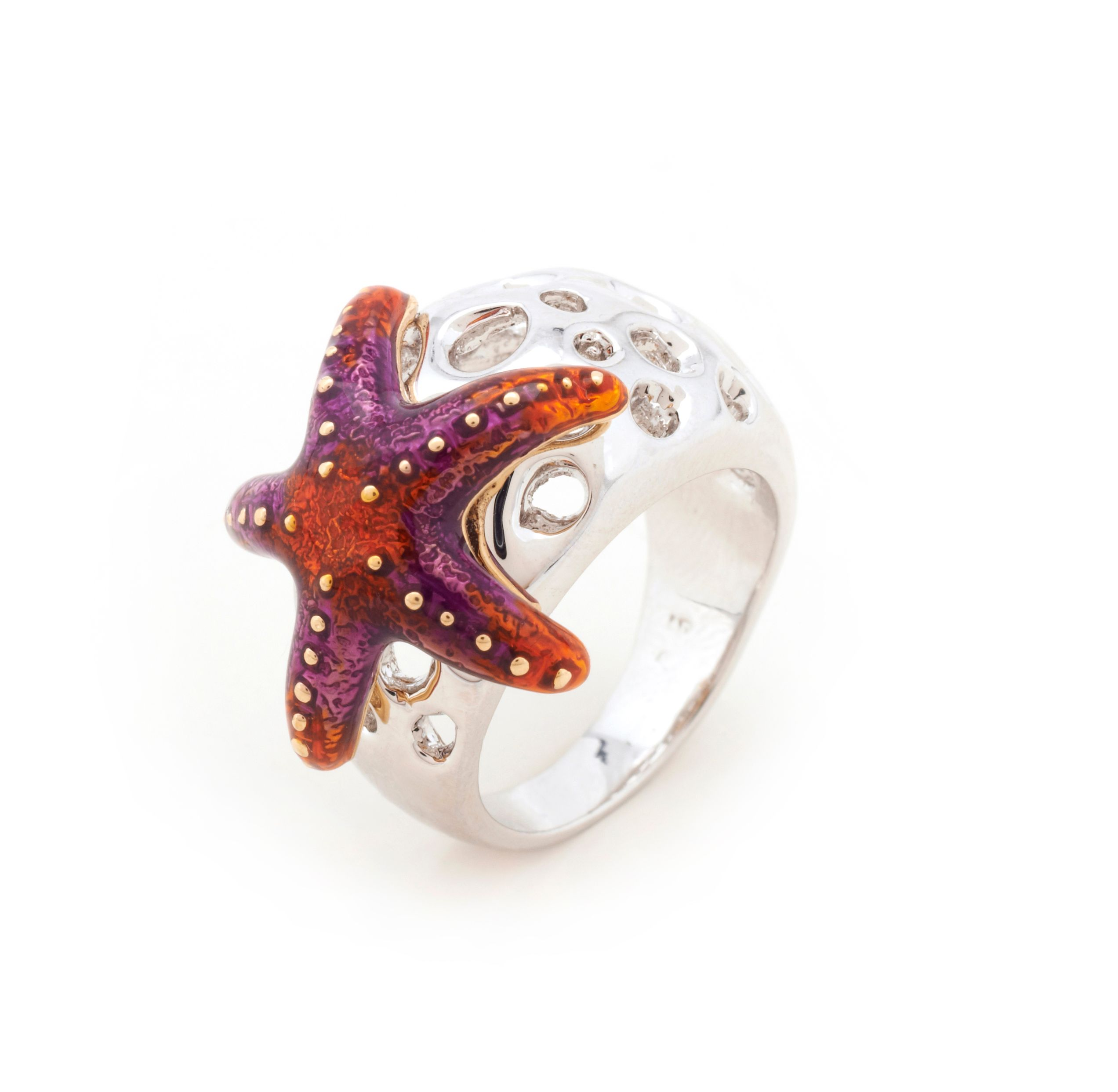 Aquatic starfish ring