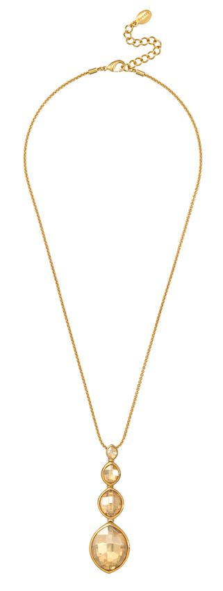 18ct gold plated 4 leaf pendant