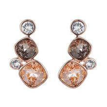 18ct rose gold plated Kailua earring
