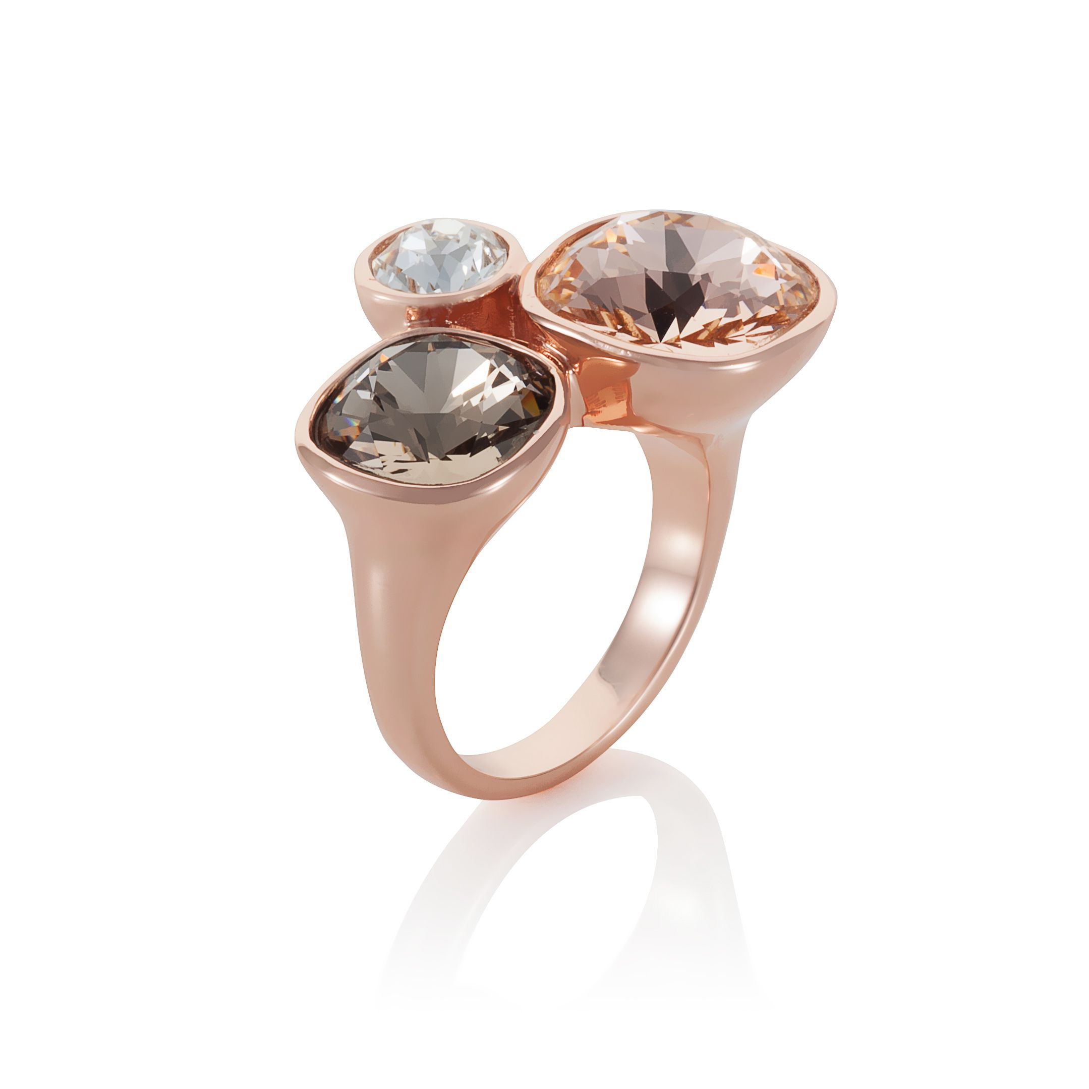 18ct rose gold plated Kailua ring